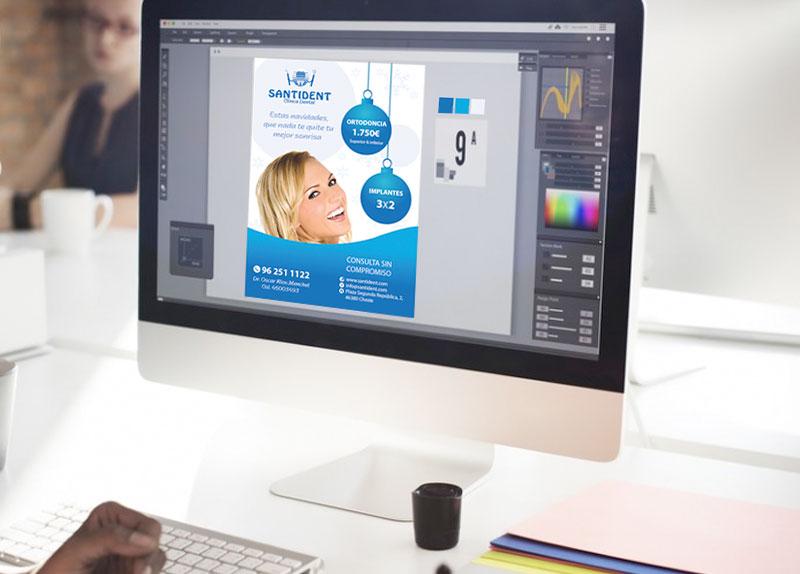 Diseño de folletos y flyers publicitarios en Valencia