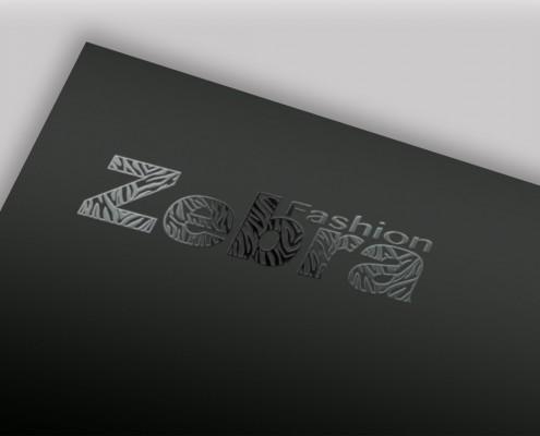 Diseño de logotipo para una marca de ropa Zebra Fashion - carpetas corpotativas