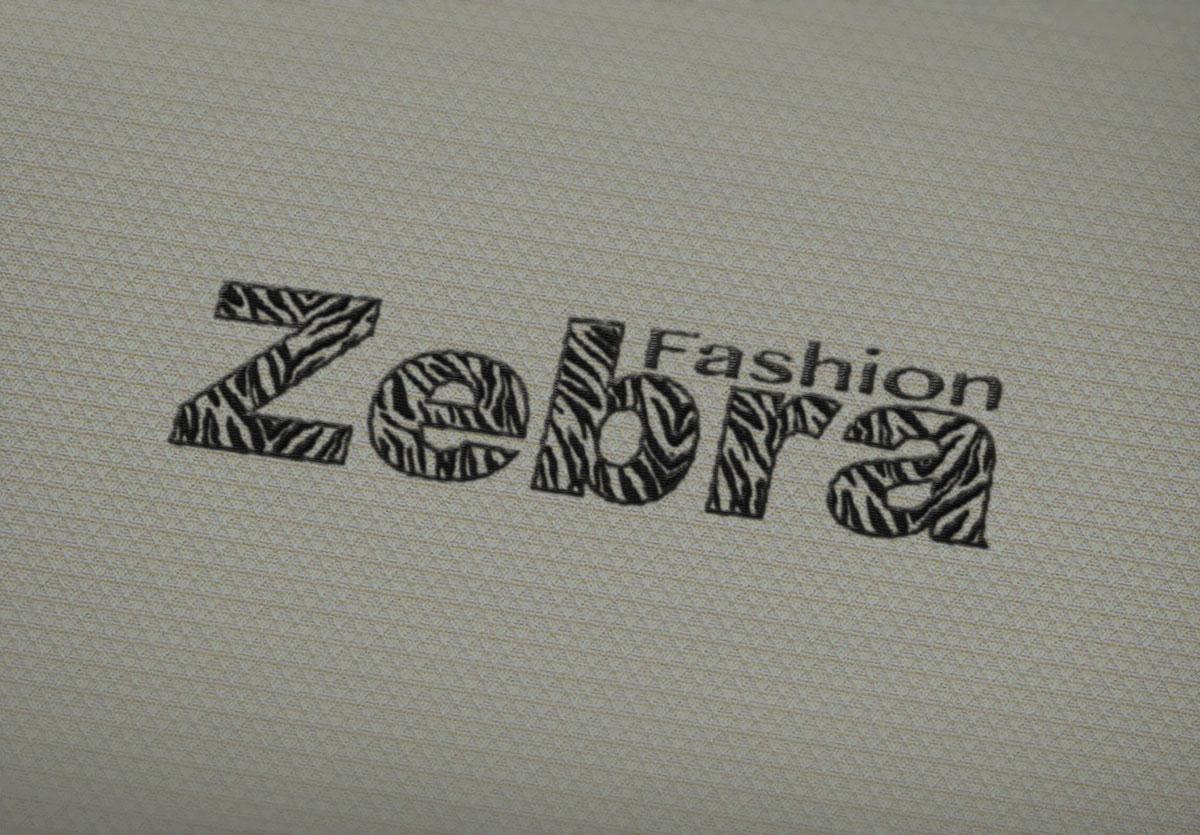 Diseño de logotipo para una marca de ropa Zebra Fashion