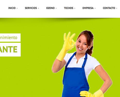 Diseño de Web presencial para Serviman Levante