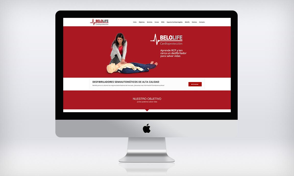 Diseño de página Web autogestionable para una empresa especializada en la venta y la instalación de desfibriladores en Valencia