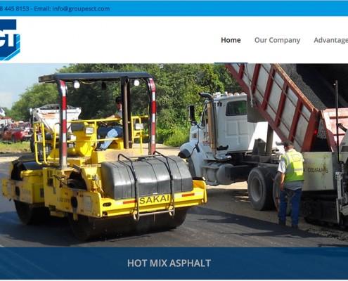 Diseño pagina Web para empresa de construcción SCT