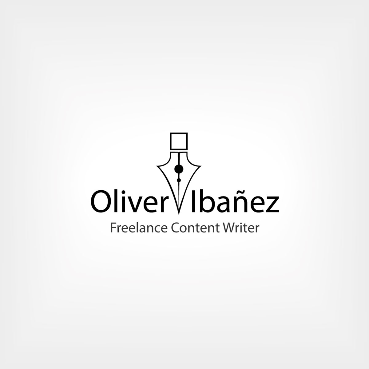 Diseño de logotipo profesional para Oliver Ibáñez, un periodista Méjicano