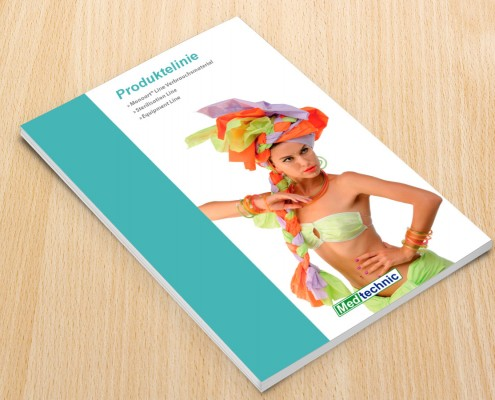 Diseño de catálogo de productos para Medtechnic