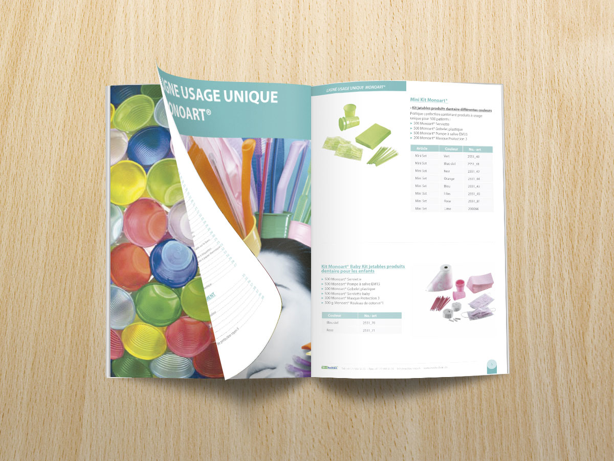 Diseño de catálogo profesional de productos