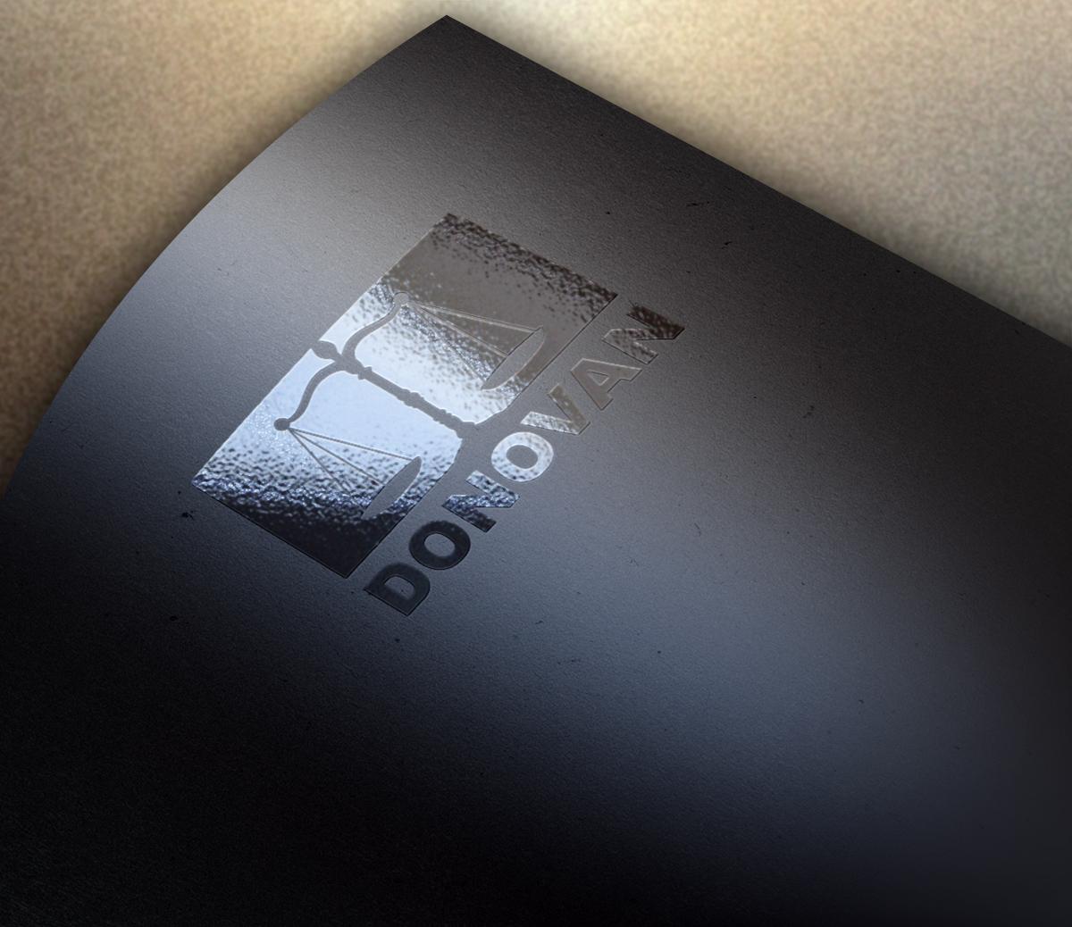 Creación de logotipo profesional para DONOVAN