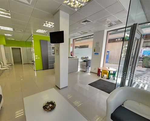 Visita Virtual Street View Google para una clínica dental en Valencia